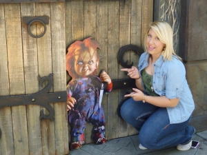 Chuckie at House of Horrors